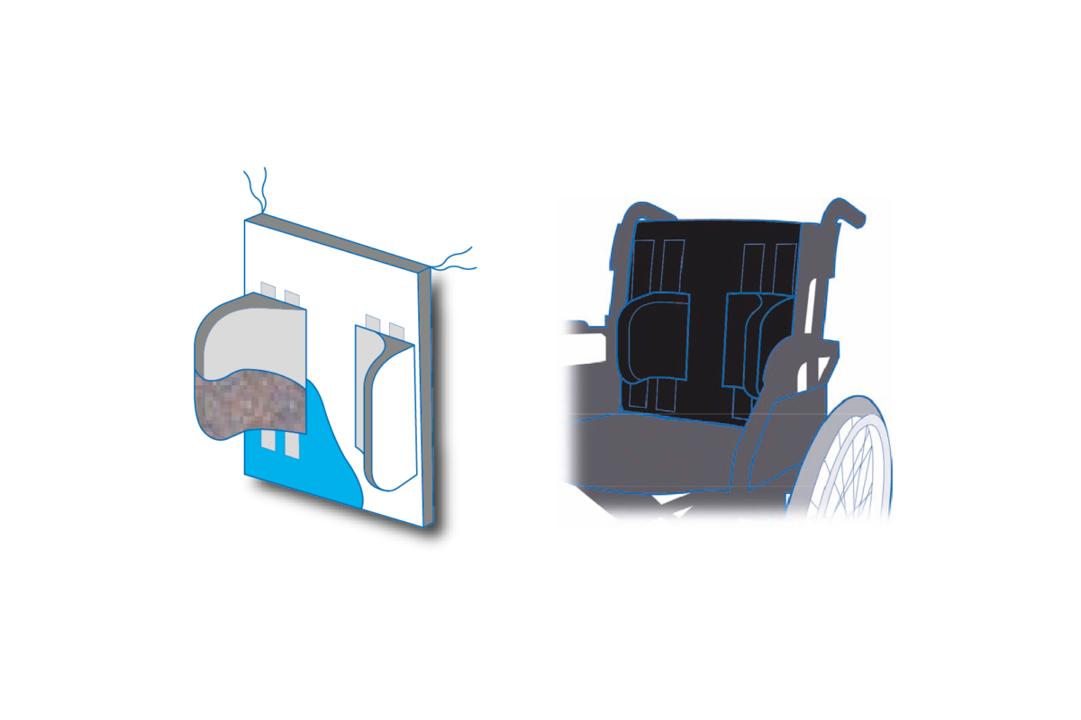 Qbitus Wheelchair Lateral Support System